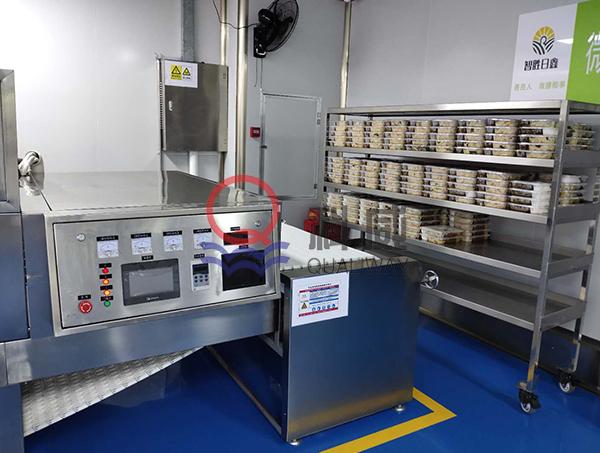 企业盒饭微波加热设备,盒饭微波加热设备
